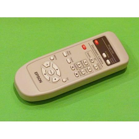 (Epson Remote Control Originally Shipped With: ELPDC11 Document Camera)