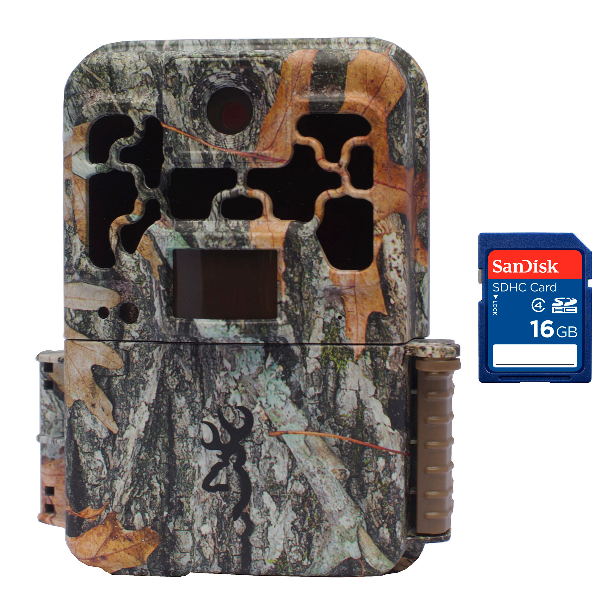 Browning Trail Cameras Spec Ops FHD Platinum 10MP IR Game Camera + 16GB SD Card by Browning Trail Cameras