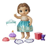 Baby Alive Cupcake Birthday Baby Doll with Brunette Hair