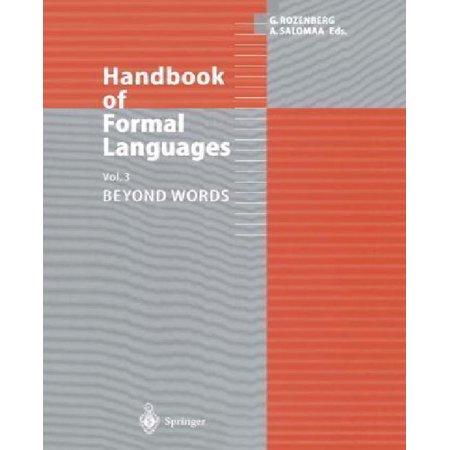 Handbook of Formal Languages - image 1 de 1