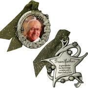 Gloria Duchin Grandfather's Christmas Ornament 2-Piece Set