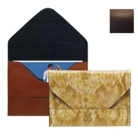 Raika RO 109 MOCHA 4 x 6 Photo Envelope - Mocha