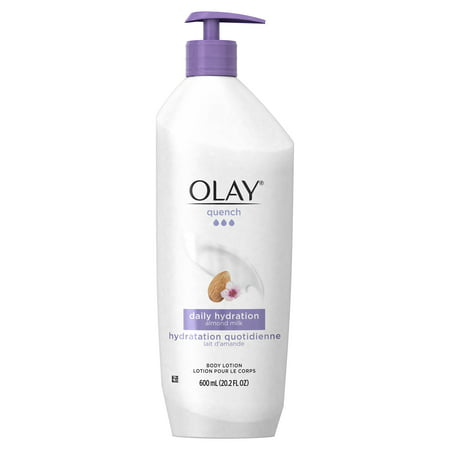 Olay Quench Daily Hydration Almond Milk Body Lotion, 20.2 fl oz