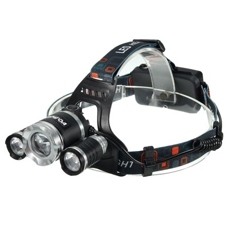 Camtoa Led Rechargeable Headlamp Flashlight Waterproof