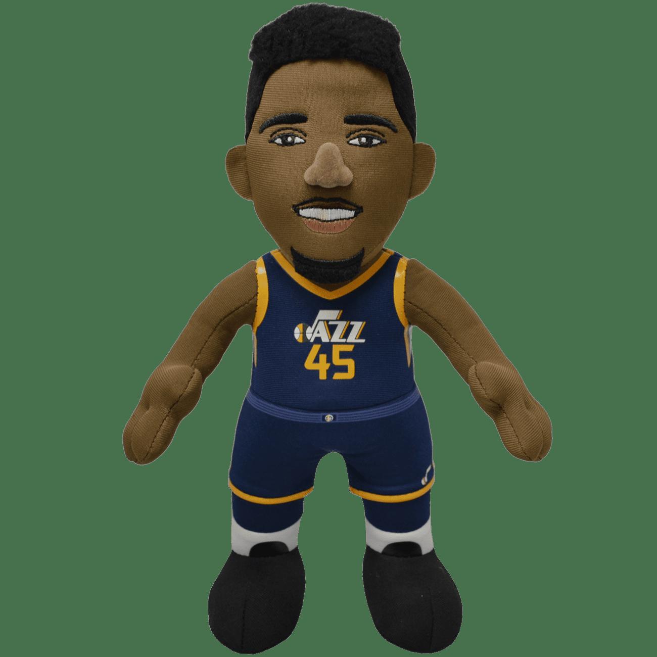 "Utah Jazz Donovan Mitchell 10"" Plush Figure"