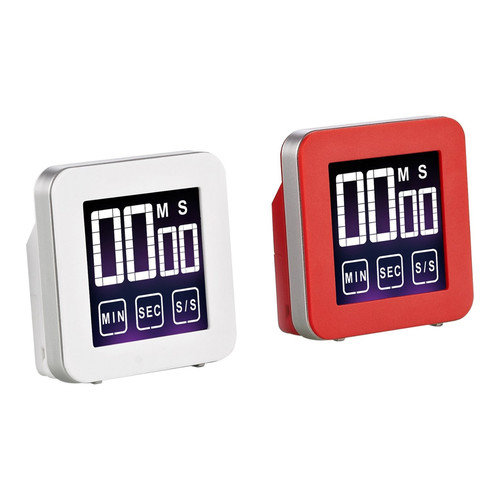 Cook N Home Touch Screen Digital Kitchen Timer (Set of 2)