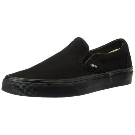 Vans VN-0EYEBKA: Slip-On Black Black Sneaker (6.5 B(M) US Women / 5 D(M) US Men) - Minecraft Shoes Vans