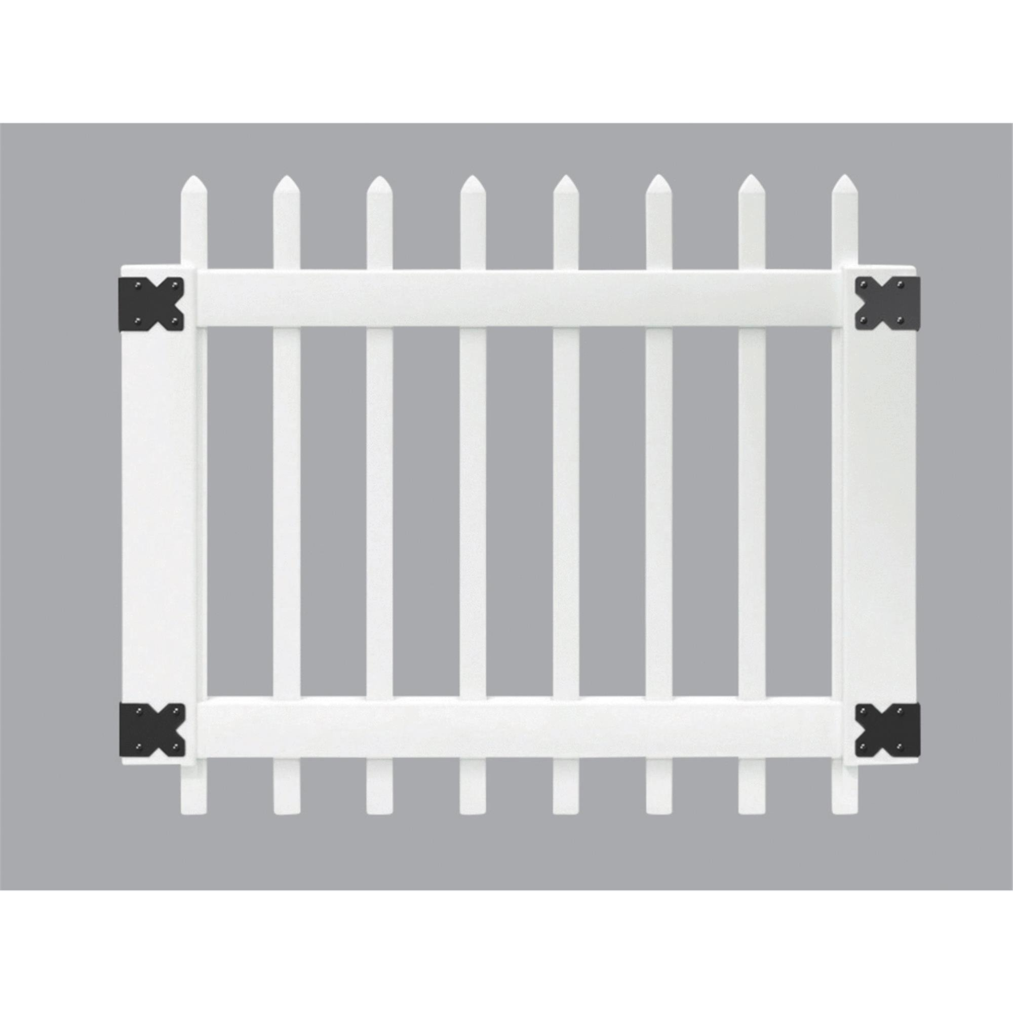 Amarroso Picket Vinyl Gate