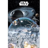 Star Wars Battle Poster Print (24 x 36)