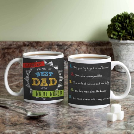 Personalized Coffee Mug for Dad - Reasons Why Best