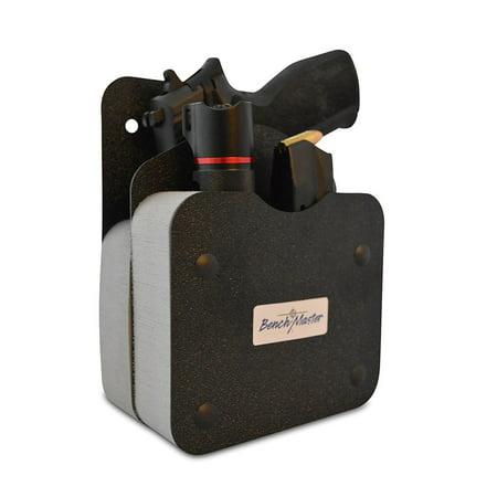 BenchMaster Single Gun Pistol Rack w/Front Accessory Holder