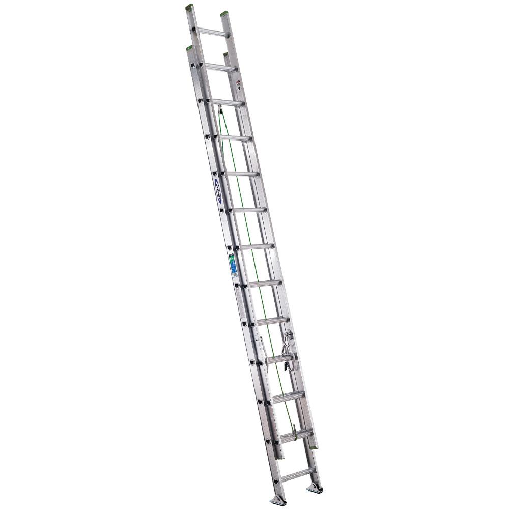 Werner D1224-2 24' Aluminum Extension Ladder by Werner