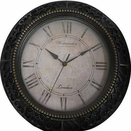 Mainstays 13 Quot Ornate Traditional Clock Walmart Com