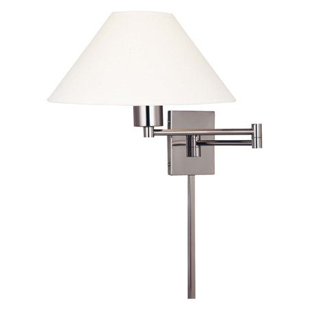1 Light Wall Swing Lamp (George Kovacs by Minka P4358 1-Light Swing Arm Wall Sconce - 14.7W)