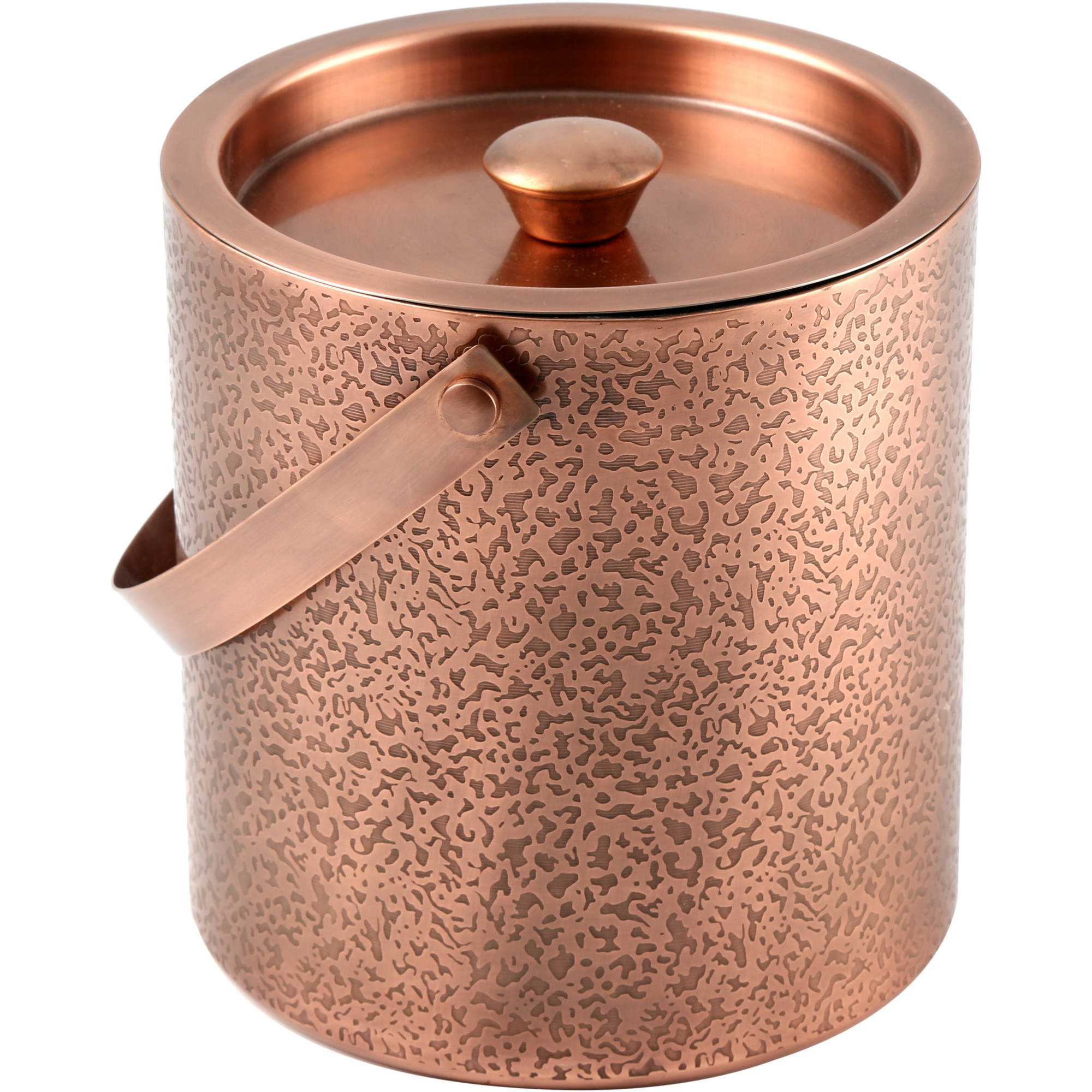 Cambridge Kerry Copper Etched 3 qt D W Ice Bucket by Cambridge