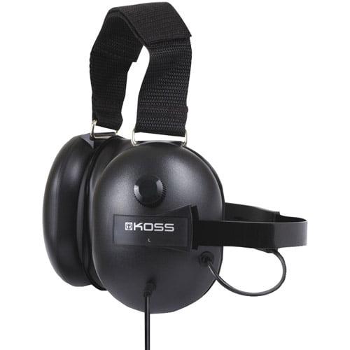Koss QZ99 Passive Noise-Canceling Full-Size Headphones, Black