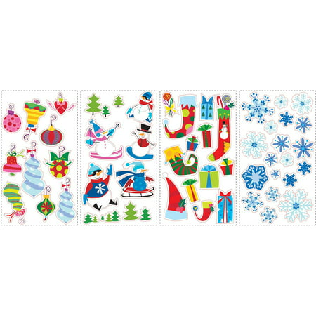 RoomMates Let it Snow Peel and Stick Wall Decals for $<!---->