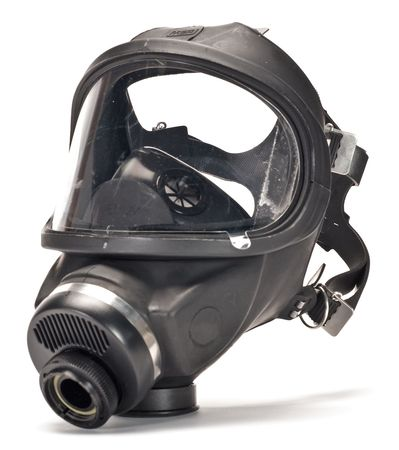 MSA 457126 MSA Ultraview(TM) Gas Mask, M by MSA