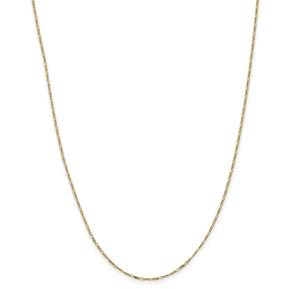 Brilliant Bijou Genuine 14k White Gold .90mm Box Chain