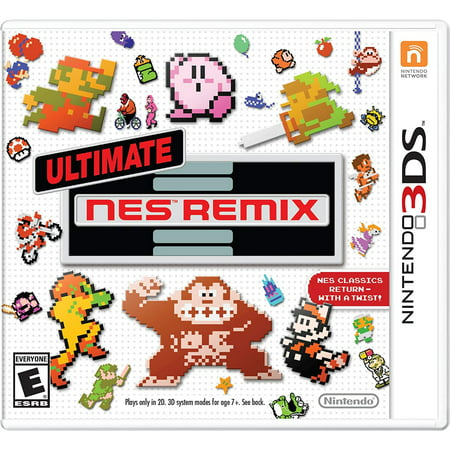 Ultimate NES Remix, Nintendo, Nintendo 3DS, REFURBISHED/PREOWNED](Halloween 2 Theme Remix)