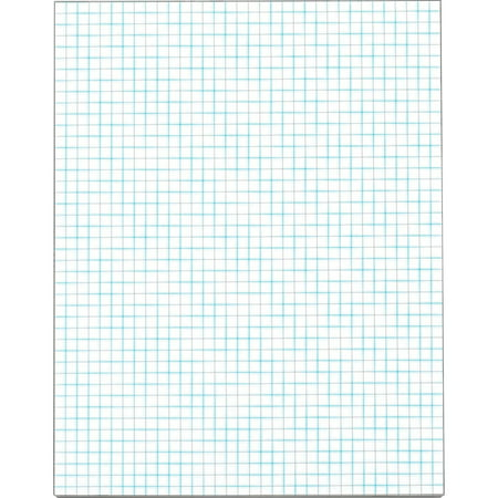 TOPS, TOP33041, 4 x 4 Ruled Quadrille Pads - Letter, 50 / Pad