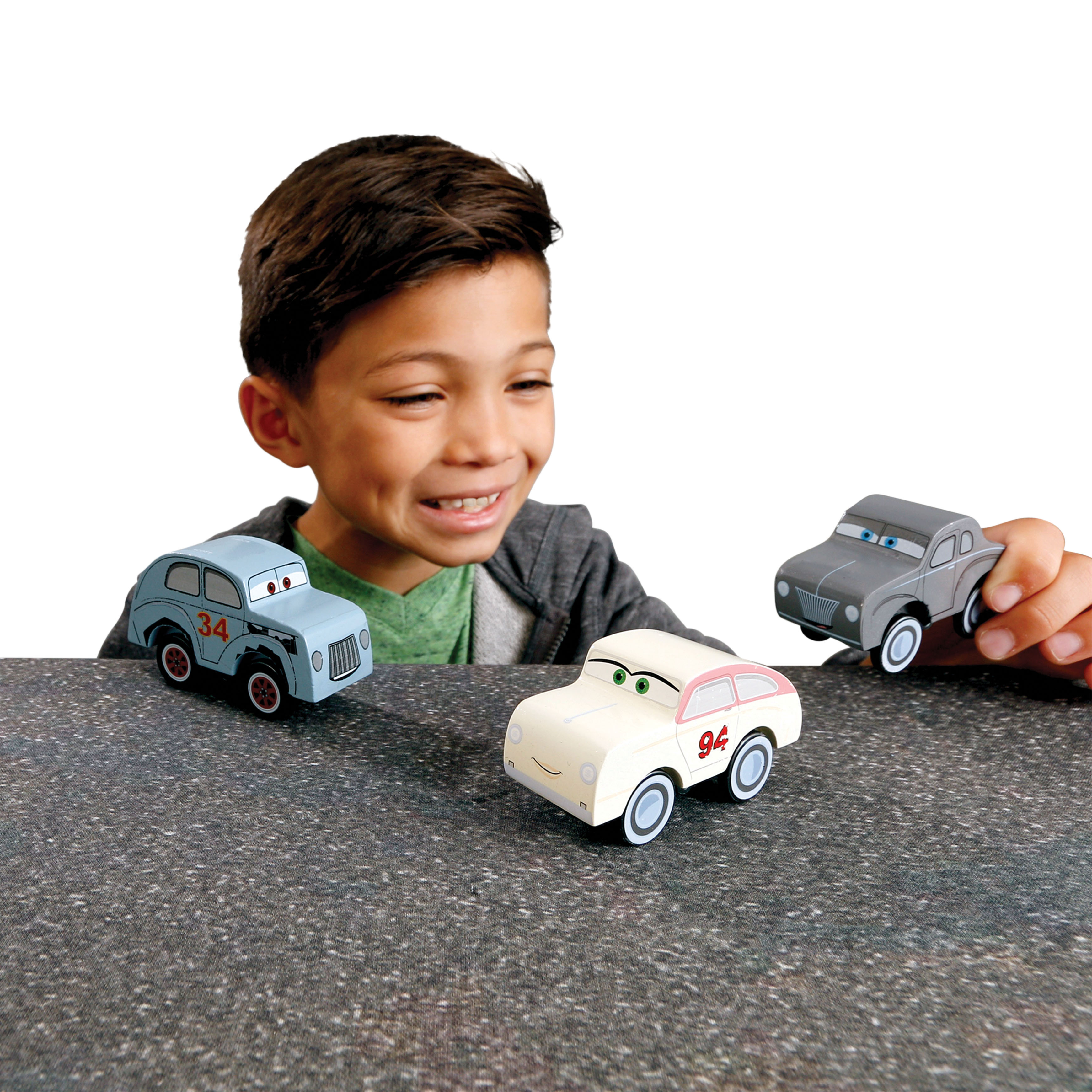 KidKraft Disney Pixar Cars 3 3-Pack Thomasville by KidKraft