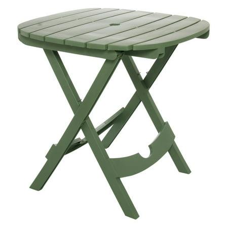 Adams Manufacturing Quik-Fold Cafe Table, Sage ()