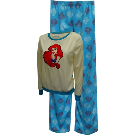 Disney Little Mermaid Princess Ariel Fleece Pajama Set