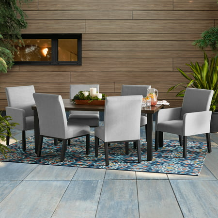 Better Homes & Gardens Ellington 7-Piece Upholstered Sling Outdoor Dining Set