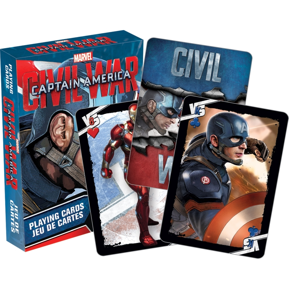 Captain America Playing Cards,  Avengers by NMR Calendars