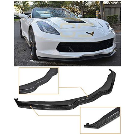 Extreme Online Store for 2014-Present Chevrolet Corvette C7 | Z06 Z07 Stage 2 Style Carbon Fiber Front Bumper Lower Lip Splitter