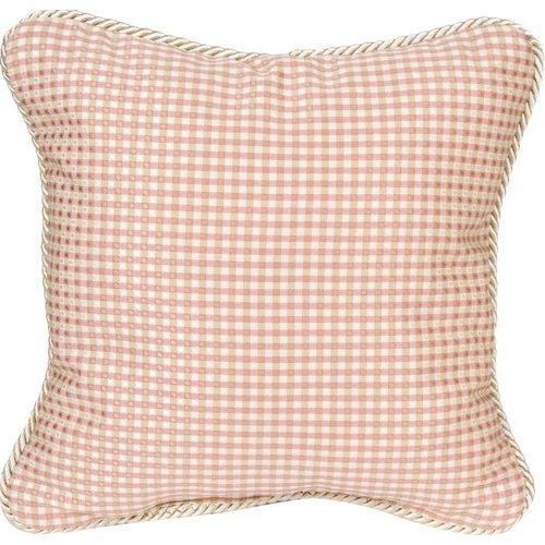 Harriet Bee Steadman Check Throw Pillow