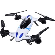 MyePads 2-in-1 L6055 6-Axis Gyro RC Flying Quadcopter Drone Car