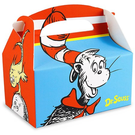 Dr. Seuss Empty Favor Boxes, 4-Pack