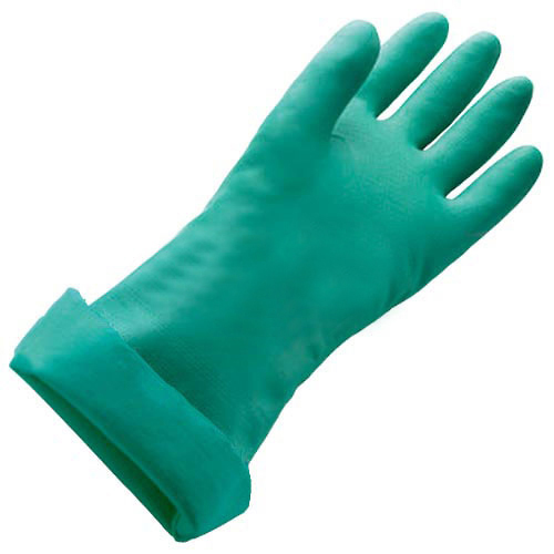 PIP Unlined X-Large Nitrile Gloves, 11 Mil, Green, XL, 1 Pair, Lot of 1