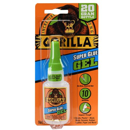 Super Glue Gel, 20 g, Clear, No run control gel formula; great for use on vertical surfaces By (Surface Adhesive Gel)
