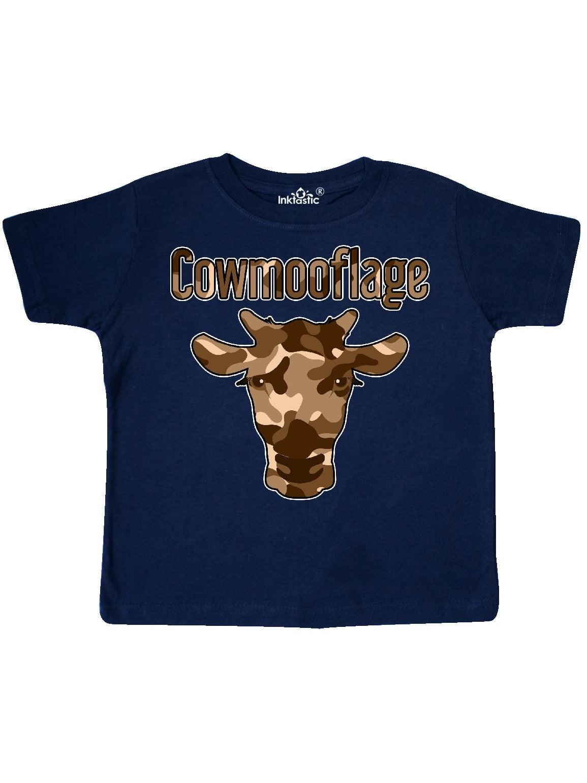 Cowmooflage BRN Toddler T-Shirt