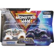Monster Jam, Official Gears Max-D Vs. Galaxies Megalodon Die-Cast Monster Trucks, 1:64 Scale (Walmart Exclusive)