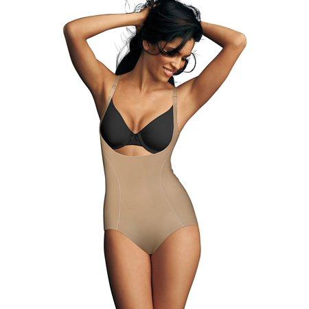 f358abae026 Flexees by Maidenform - Women s Ultimate Slimmer Wear Your Own Bra Torsette  Bod... L Nude - Walmart.com