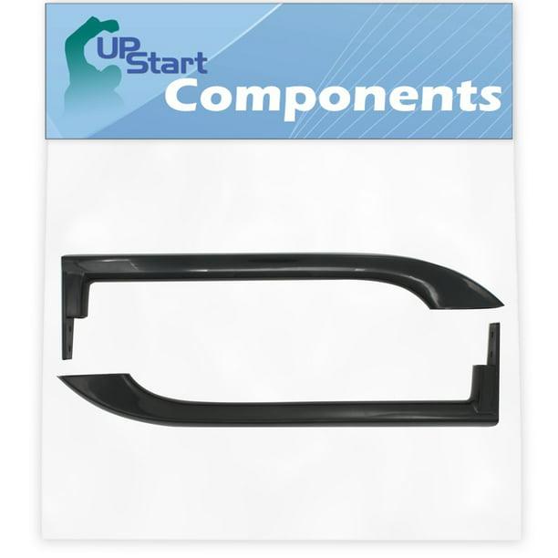 Compatible with 5304506471 Black Door Handle UpStart Components Brand 5304506471 Refrigerator Door Handle Replacement for Frigidaire FFHT1621QS0 Refrigerator