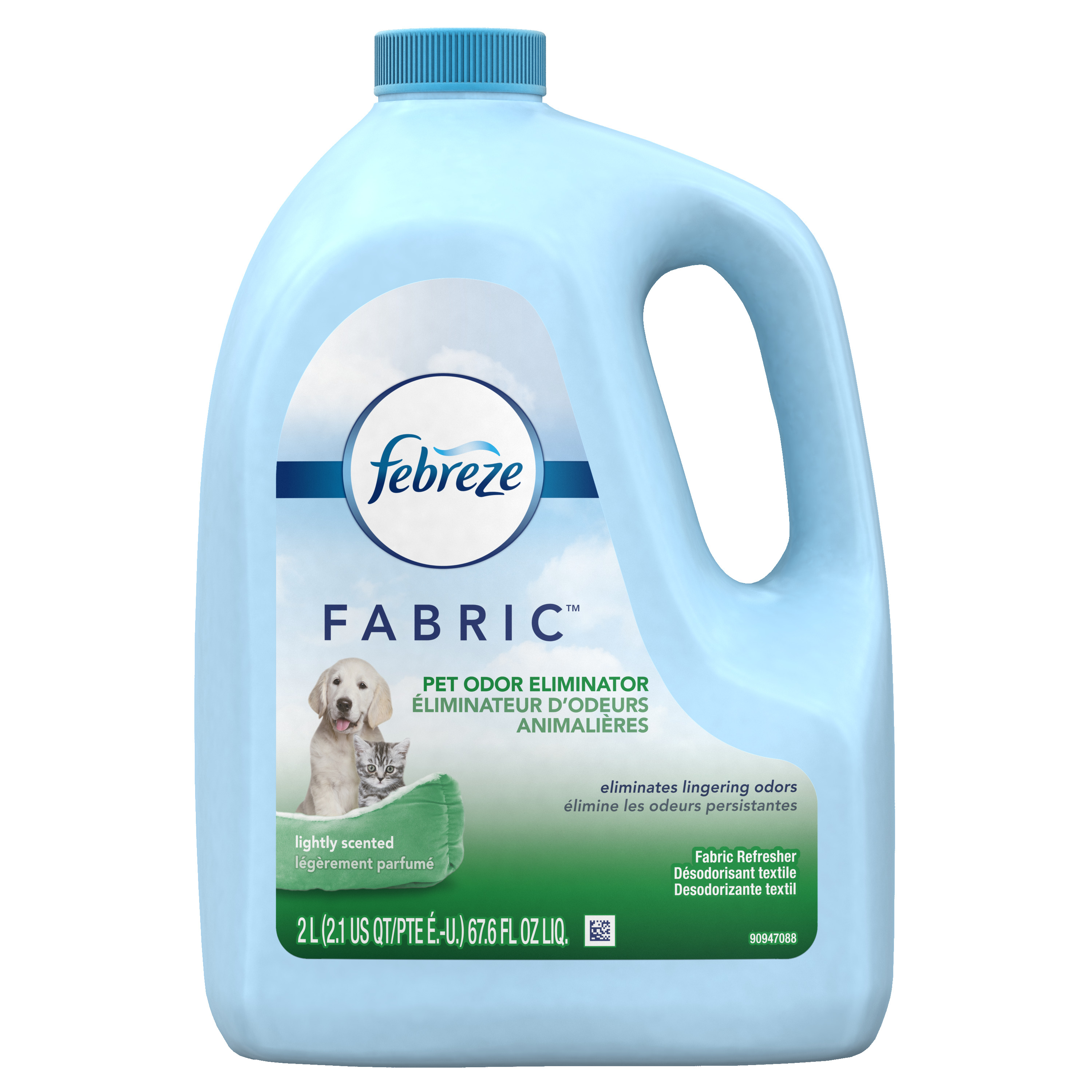 Febreze FABRIC Refresher, Pet Odor Eliminator Refill, 1 Count, 67.62 oz
