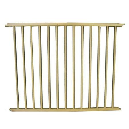 """Cardinal Gates VersaGate Hardware Mounted Pet Gate Extension, Wood, 40"""" x 30.5"""""""