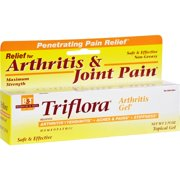 Boericke and Tafel Triflora Arthritis Gel - 2.75 oz Homeopathic Pain Relief