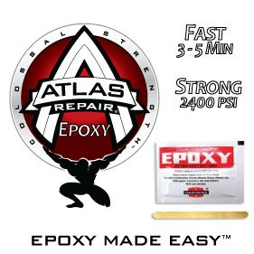 Hardman Atlas Repair Epoxy Extra Fast Setting Epoxy Packe...
