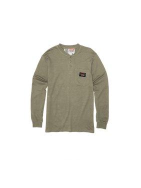 4b168f65054 Product Image Rasco FR Khaki Henley T-Shirt 100% Preshrunk Cotton NFPA 2112