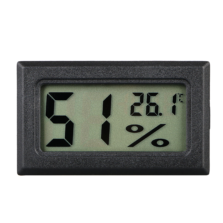 Digital LCD Indoor Temperature Humidity Meter Thermometer Hygrometer