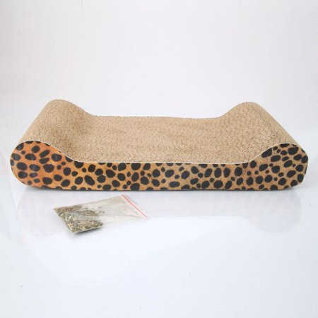 Ktaxon Corrugated Paper  Cat Toy Cat Sofa Flat Claws Grinding Board with Catnip](Cat Claws For Halloween)
