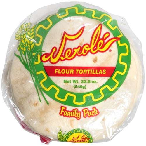 Verole: Flour Tortillas, 22.50 oz