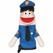 Get Ready 435H policeman puppet- Caucasian- 18 inch