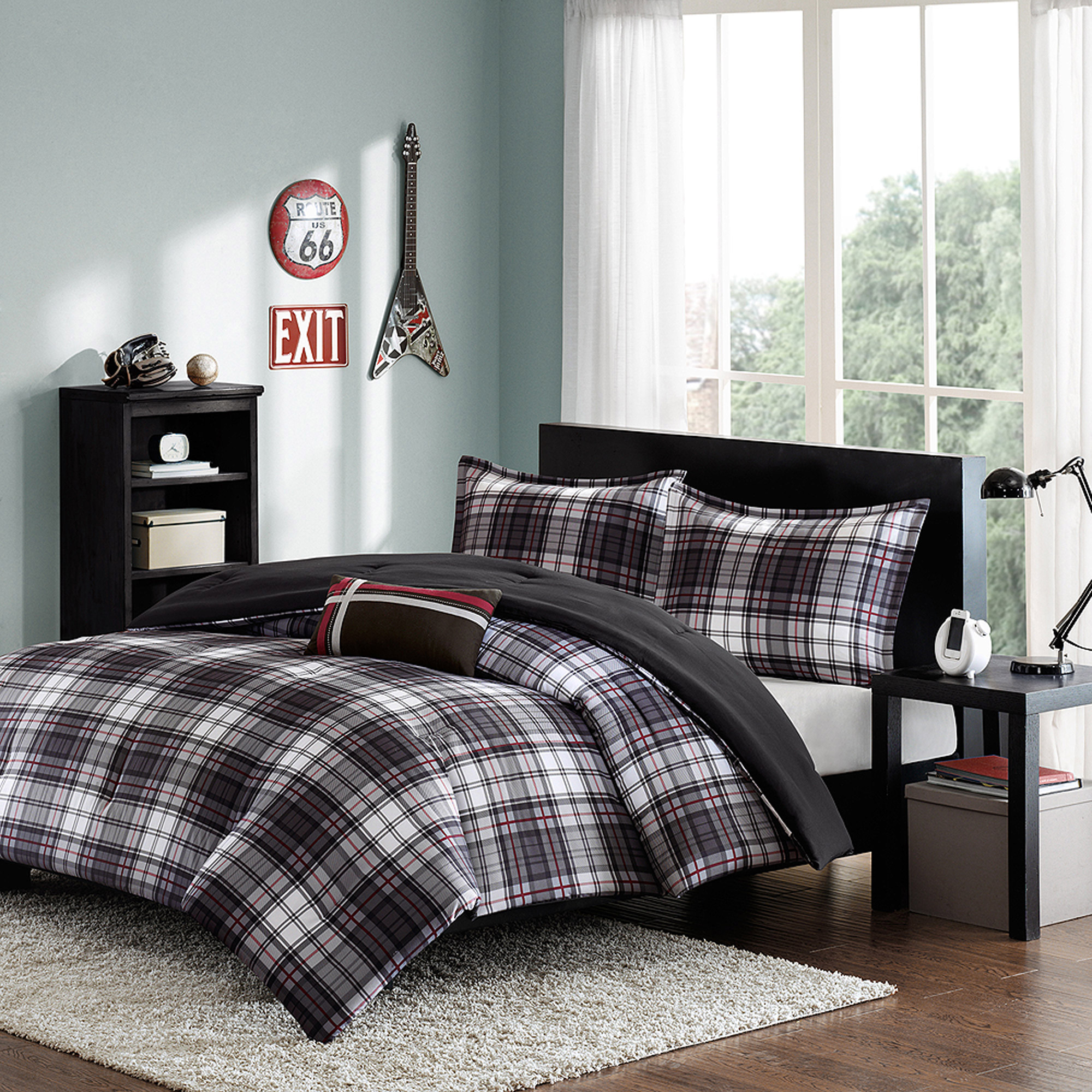 Home Essence Teen Shawn Printed Comforter Bedding Set